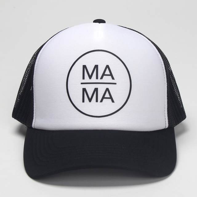 DongKing Fashion Trucker Hat MAMA PAPA BABY Printed Family Gift Couples  Cool Baseball Snapback Caps Meth c10eb0c0984e