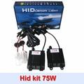 Car headlamp high power hid xenon kit 75w ballast h1 h3 h4 h7 h8 h9 h1 hid kit conversion kit free shipping
