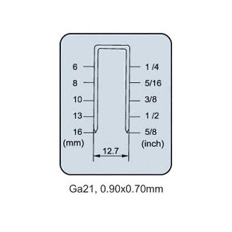 Pinzatrice pneumatica per chiodatrice pneumatica per chiodatrice a - Utensili elettrici - Fotografia 3