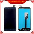 Новый Для ZTE Z988 Grand X MAX 2 Полный ЖК-Дисплей Сенсорный Экран Digitizer Рамка Ассамблея VI032 T16 0.35