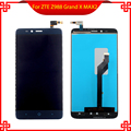 Novo para zte z988 grand x max 2 completo display lcd touch screen digitador assembléia moldura vi032 t16 0.35