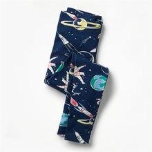 24b9fd94db84ca Skoki metrów Dzieci legginsy spodnie przestrzeń drukuj spodni 2-7 t  dziewczynka spodnie moda ubrania dla dzieci jesień ołówek sp.