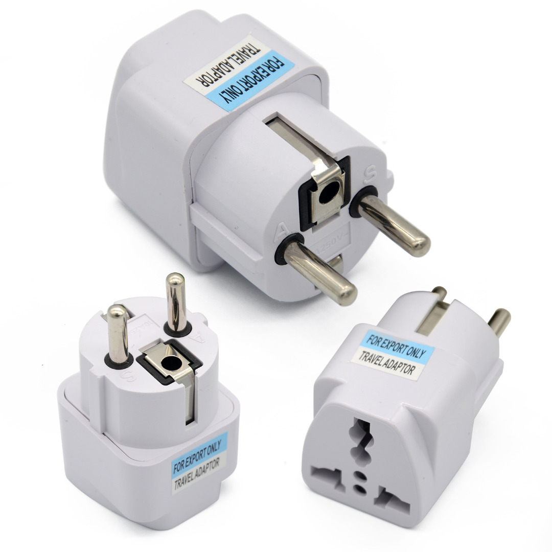 New Arrival Universal UK US AU to EU Charger Power Socket Plug Power Adapter Travel Converter For Easy Carry Adapters