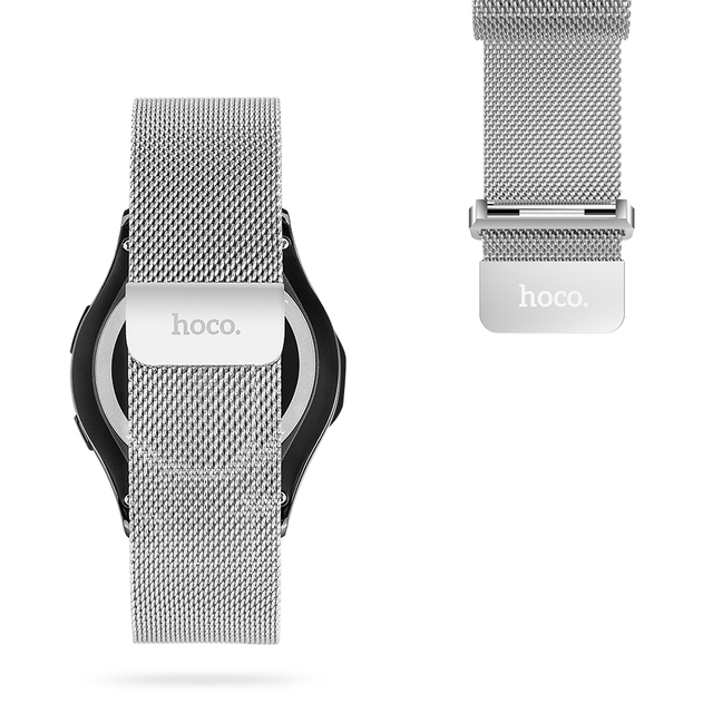 Original HOCO Watchband For Samsung Galaxy Gear S3 Classic Milanese Loop Bracelet For Samsung Gear S3 Magnetic Closure Strap
