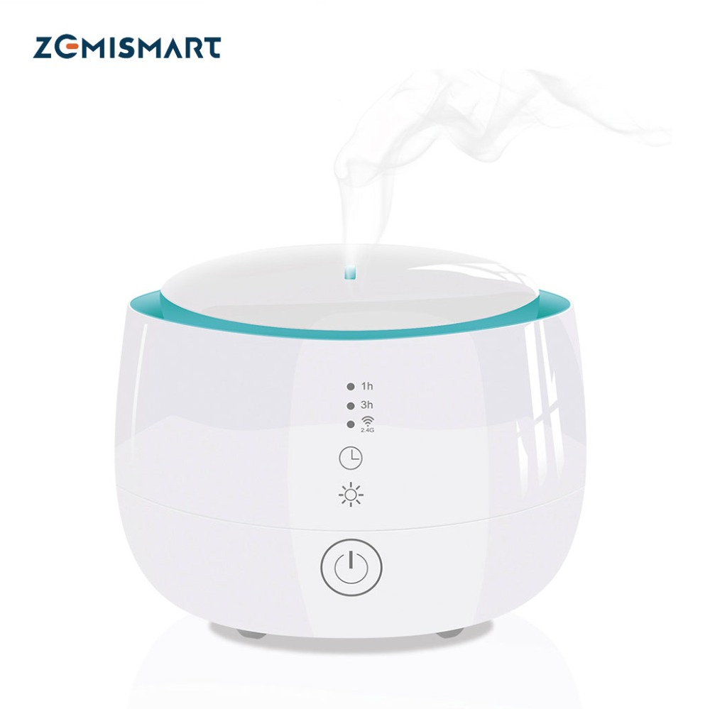 Zemismart Alexa Google Diffuser Wifi Voice Control Smart Home Smart Life App Control 300ml Air Humidifier PurifierZemismart Alexa Google Diffuser Wifi Voice Control Smart Home Smart Life App Control 300ml Air Humidifier Purifier