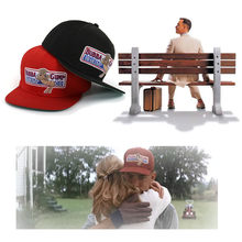 f0011404 Baseball Cap Classic Movie Accessories Forrest Gump Cosplay Hat Embroidered  Snapback