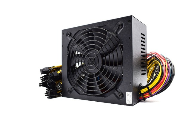 Original 1800W Mining Power Supply 12V 150A suitable for miner R9 380/390 RX 470/480 RX 570/580 6 GPU CARDS 90 PLUS GOLD