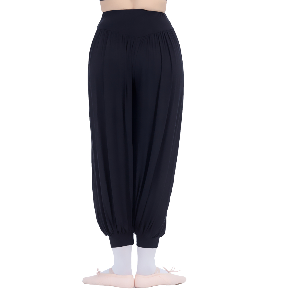 Black,Red Highwaisted Bloomers Dance Pants for Dance for Ladies and Girls 3