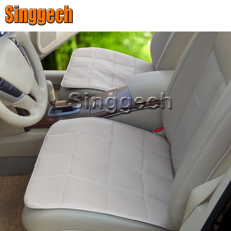 Car Breathable Mesh Seat Cushions For Mercedes W211 W203 W204 W210 W205 W212 W220 AMG For Cadillac CTS SRX ATS Accessories kalaisike custom car floor mats for mitsubishi all model asx outlander lancer pajero sport pajero dazzle car styling accessories