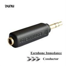 Дуну проводник наушники импедансный разъем 75 150 200 Ом шумоподавление адаптер 3,5 мм разъем сопротивления снижать шум фильтр штекер