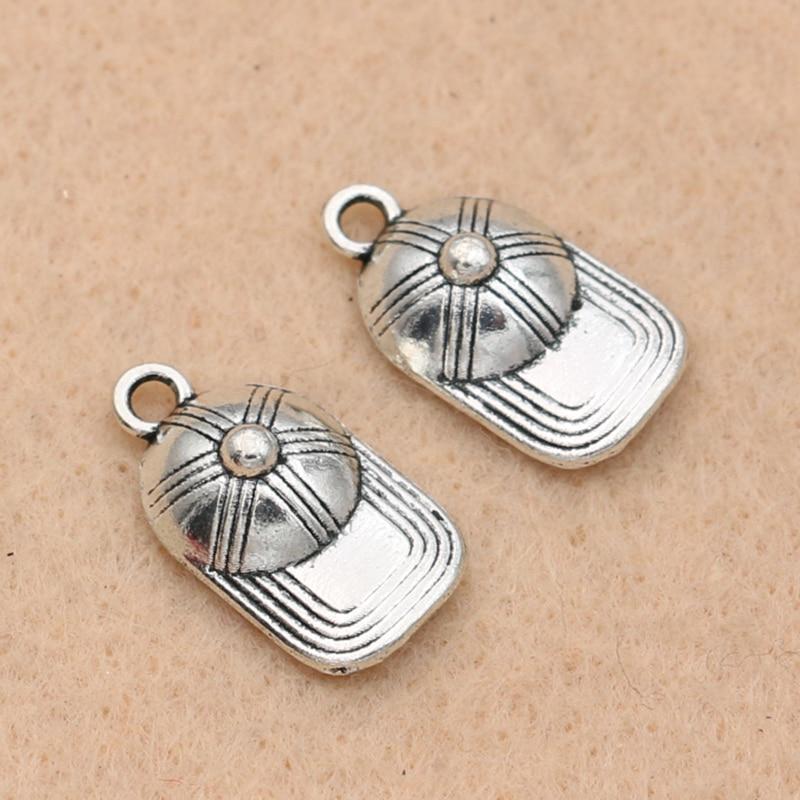 10 x tibétain argent hibou mixte charms pendants