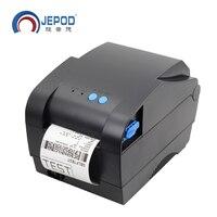 XP 365B 100pcs Lot 20mm 80mm Print Width Direct Thermal Barcode Lable Printer Bar Code QR