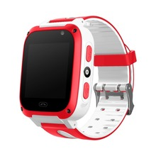 Smart Watch Children Fashion Casual 1.44 Inch Screen Silicone Strap GSM Game Phone Watch With Flashlight SOS Emergency Alarm xiaocai x6 waterproof gsm bar phone w 1 77 screen flashlight mobile charger black olive
