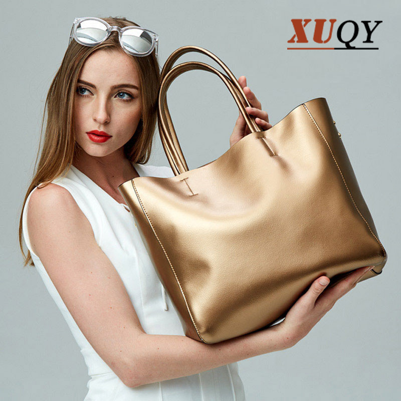 ФОТО New Casual Tote Women Handbag Leather Shoulder Bag Luxury Brand Tote Bag Large Capacity Female Bag High Quality MT100766