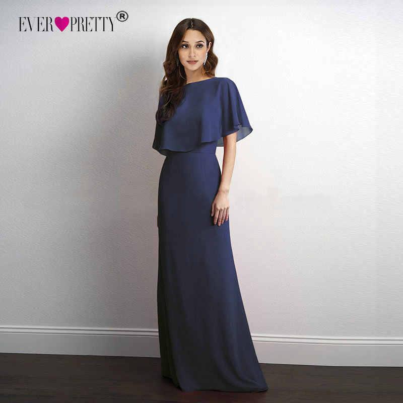 Mother of the Bride Dresses Plus Size Ever Pretty EZ07762 Cheap Navy Blue  A-line 31bca46957b0