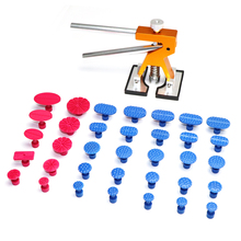 PDR Tools Car Dent Repair Paintless Dent Repair Tool to Remove Dents Auto Tool Set Dent Puller Kit Lifter Removal Glue Tabs gift
