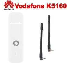 Unlocked Huawei Vodafone K5160 with antenna 4G LTE Dongle Mobile Broadband USB Modems 4G Modem LTE Modem cheap External Wireless Laptop 4G Card