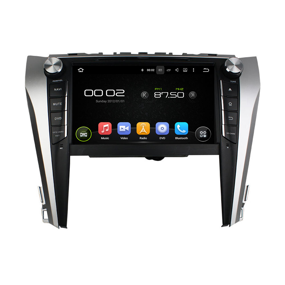 otojeta car dvd player for Toyota Camry 2015 2016 octa 8 core android 6.0 2gb RAM 32gb ROM stereo BT radio dvr obd2 tpms camera