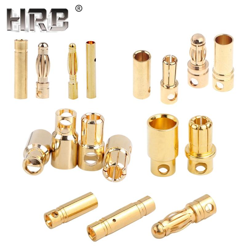 20pcs 5 colors Mini 2mm Radioshack Stackable Banana Plug Male Jack Gold Pin US