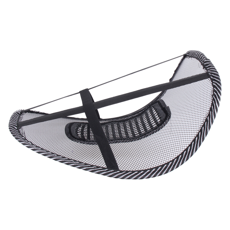 Universal Car Seat Chair Back Massage Lumbar Support Waist Kudde Mesh - Bil interiör tillbehör - Foto 6