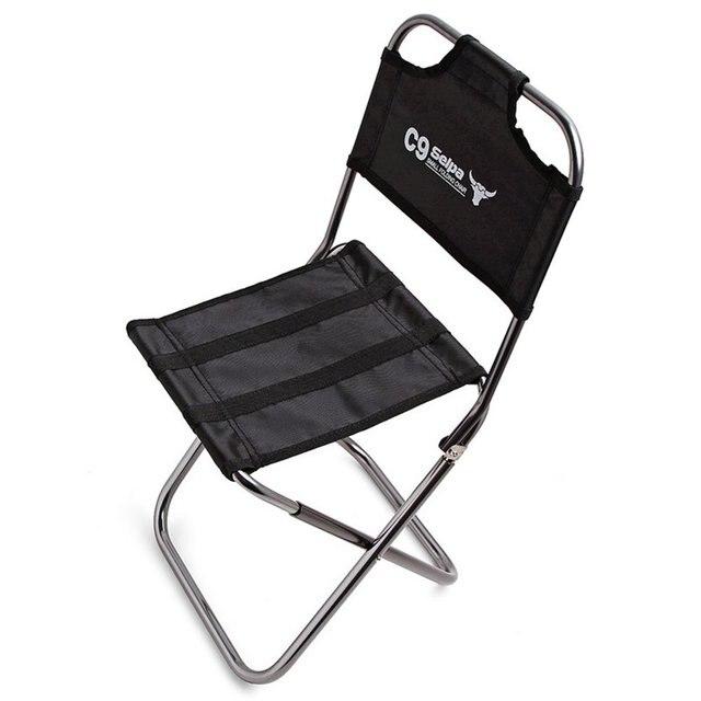 Складное кресло на улицу 7075 алюминий сплав рыбалка стул для кемпинга принадлежности для шашлыков складывание стула стул портативный путешествия стул с сумкой
