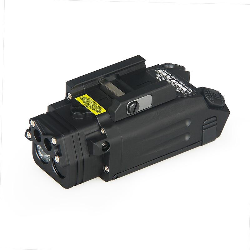WIPSON DBAL-PL type light white LED 400 Lumens Flashlight With Red Laser IR LED illuminator /visible laser pointer
