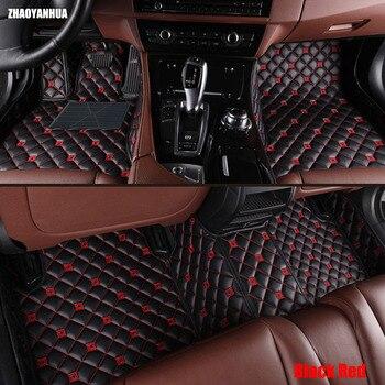 ZHAOYANHUA Car floor mats for Mercedes Benz W246 B class 160 180 200 220 B160 B180 B200 car-styling case rugs liners (2012- )