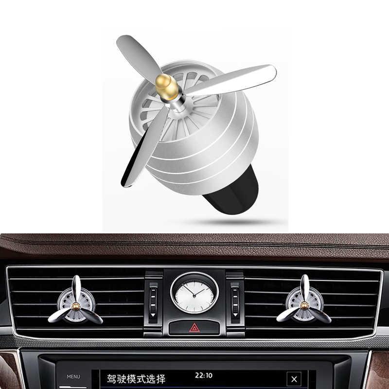 Parfum d'évent de voiture d'agrafe solide de parfum de décoration automatique pour Ford Focus 2 3 fiesta mondeo ecosport kuga HYUNDAI ix35 Opel Astra