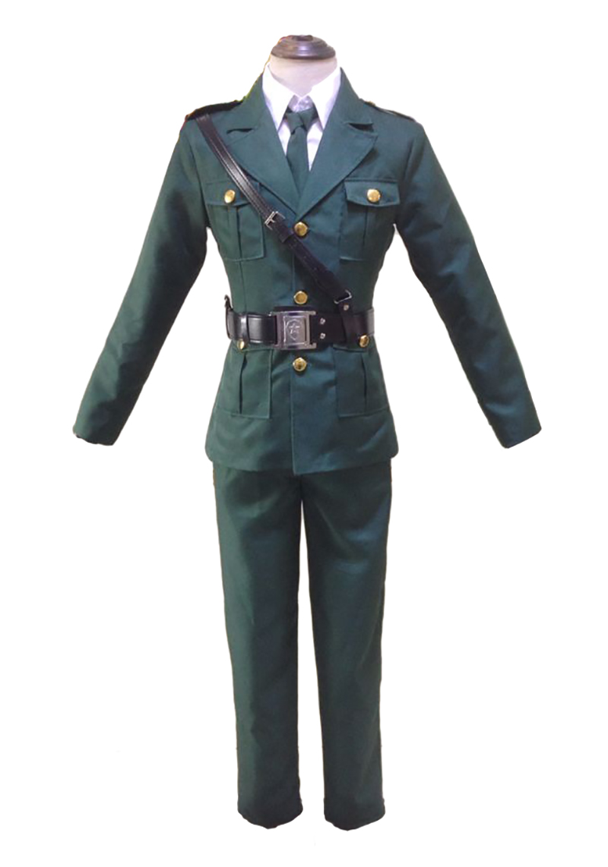 APH Axis Powers Hetalia Germany Ludwig Cosplay Costume Custom Made Any Size#BM