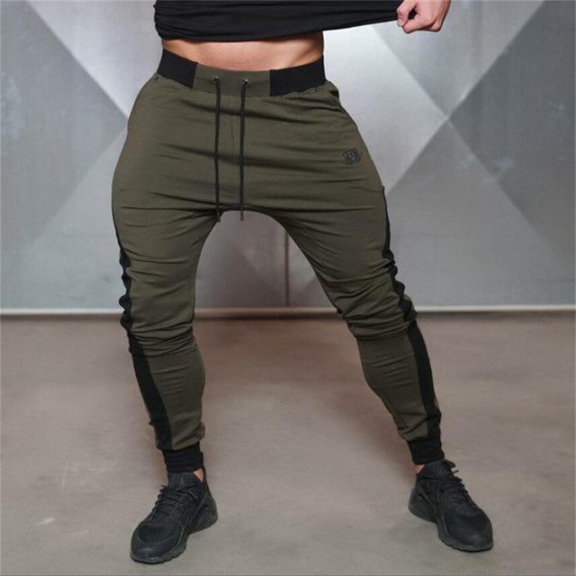 Body Engineers Mens Fitness Sweatpants Pant male Casual fashion Bodybuilding trouser drawers Brand men's trousers Harlan pants