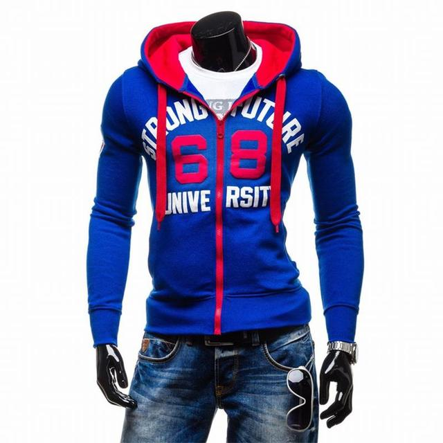 2016 Hoodies Men Sudaderas Hombre Hip Hop Mens Brand Chest Digital Printing Hoodie Sweatshirt Suit Slim Fit Men Hoody XXL  SW62
