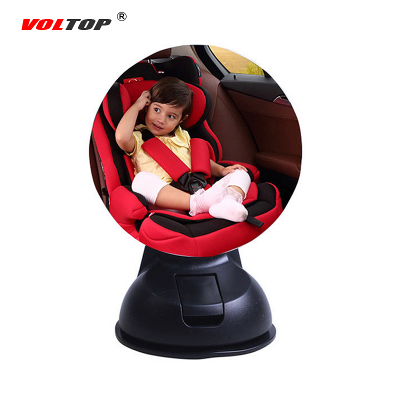 VOLTOP Car Interior Mirrors Rear View Mirror Back Seat Blind Spot Mirror Monitor Kids Baby Child Safety Wide Angle Round Convex