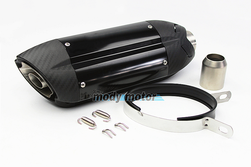 MGOD-Motorcycle sports car modified MT07 09 for 10RZX6R10R Z800 Italian devil MIVV exhaust pipe 36-51mm universal ninjia er6n universal motorcycle slip on mivv exhaust for most exhaust mt07 09 for 10rzx6r10r z800 ninjia er6n z1000