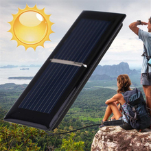 BCMaster 0.5V 0.125W 250MA Mini Polycrystalline Solar Panel Portable DIY Solar Power Cell Charger Module