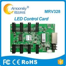Novastar Receber cartão MRV328 para fundição de alumínio aluguer display led indoor e ao ar livre Nova cartão Receptor
