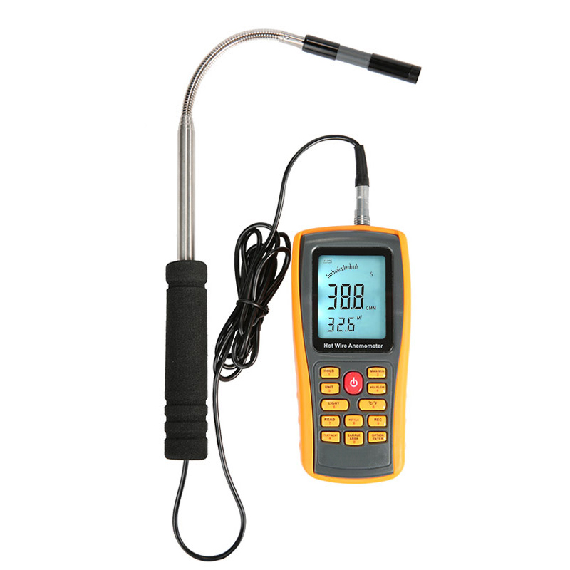 Anemometer GM8903 Wind Speed GaugeTemperature Measurement USB Interface Tools Measuring Instrument Digital Handheld AnemometerAnemometer GM8903 Wind Speed GaugeTemperature Measurement USB Interface Tools Measuring Instrument Digital Handheld Anemometer