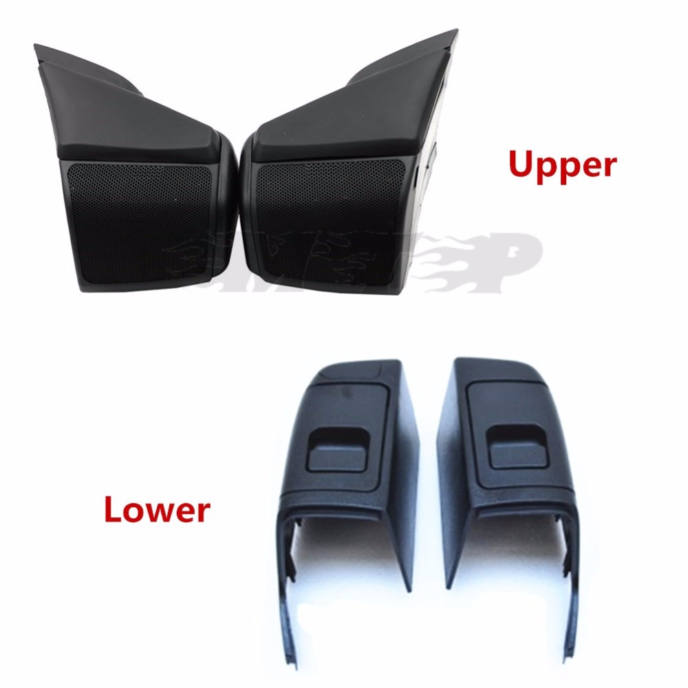 Motorcycle ABS Speaker Upper Lower Cover Shield Guard Fairing For Honda GOLDWING 1800 GL GL1800 Gold