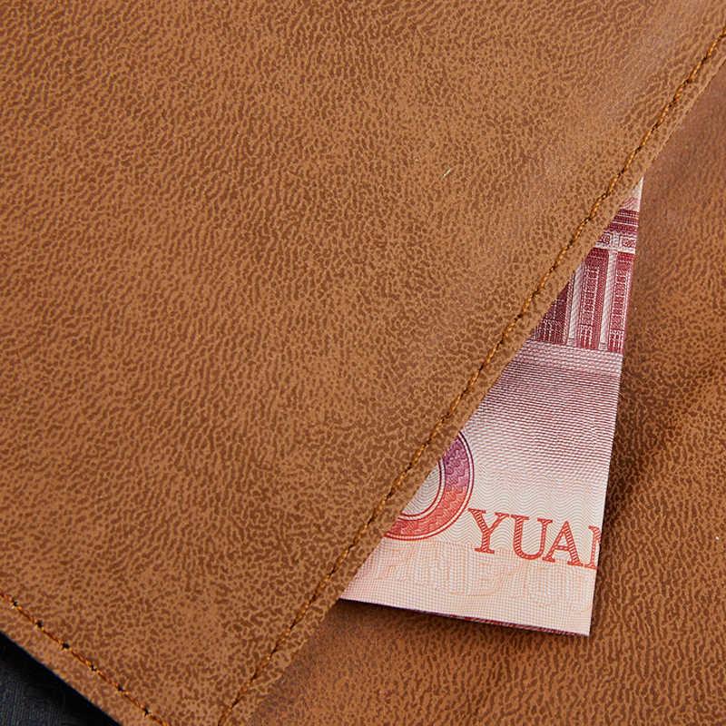Luxus PU Leder Brieftasche Für Panasonic Eluga Icon Handy Tasche Abdeckung Mit Stand Karte Halter Vintage Stil Fall