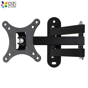 """Image 4 - Full Motion TV Wall Mount Monitor Wall Bracket with Swivel and Articulating Tilt Arm Fits 10 27""""LCD LED Flat Screens up to 22lbs"""