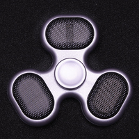 Bluetooth Newest Sound Hand Spinner Music Coloured Spiner Light Finger Fidget Tri Spinner Bt59