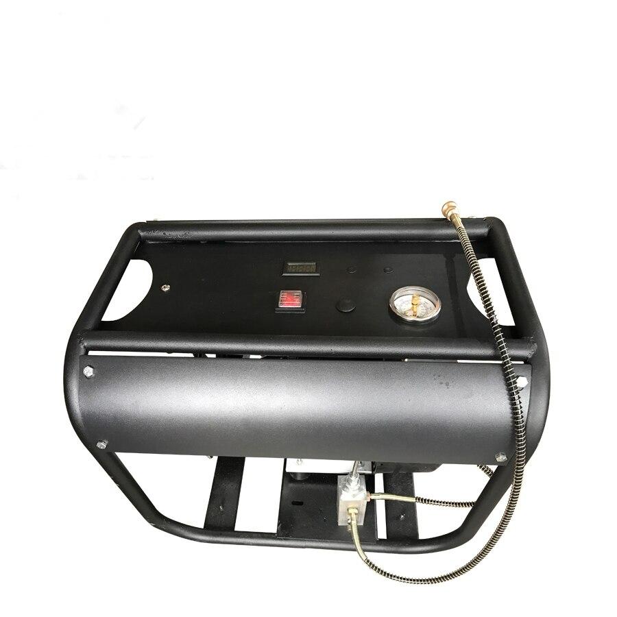 4500PSI 300bar 30mpa Réglable arrêt automatique fonction Électrique double Cylindre compresseur d'air pour le PCP réservoir d'air gaz de remplissage 1 pcs