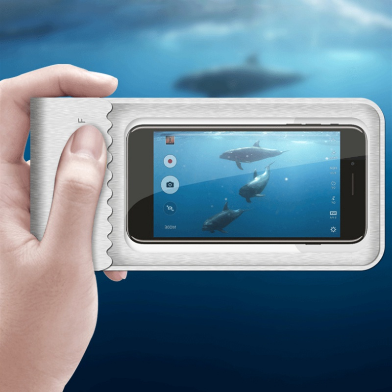 Swimming Bag  Mobile Phone Waterproof Bag Touch Screen Phone Case Cellphone Pouch Holder For Diving Surfing Water Sports