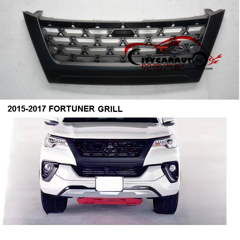 CITYCARAUTO FREE SHIPMENT HIGH QUALITY FRONT RACING GRILL RAPTOR GRILLS fit FOR FORTUNER GRILL GRILLE 2015-2017