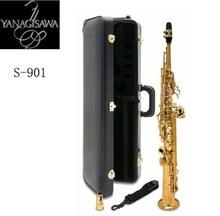 Япония Янагисава сопрано саксофоны S-901 бемоль музыкальный инструмент высокое качество Yanagisawa прямые Sax с аксессуарами доставка