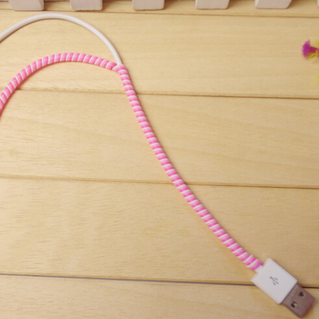 Cable Winder Clever 1.5m Mix Color Phone Wire Cord Rope Protector Usb Charging Cable Bobbin Winder Data Line Earphone Cover Suit Spring Sleeve Twine