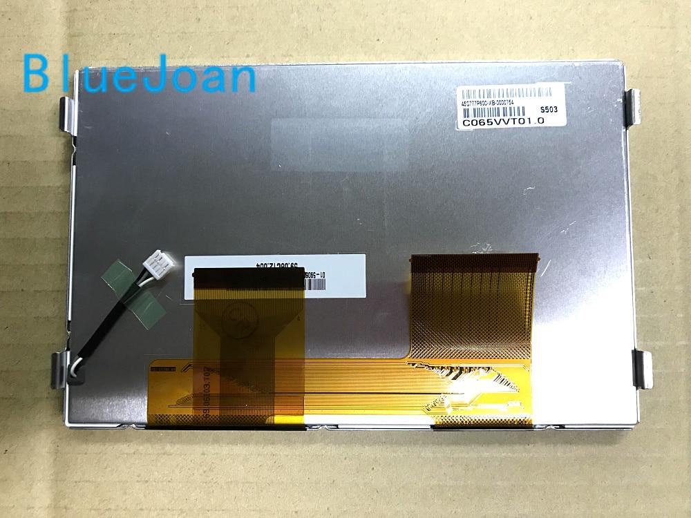 BlueJoan C065VVT01 C065VVT01 0 Original new A Grade 6 5 inch LCD Display Panel for Car