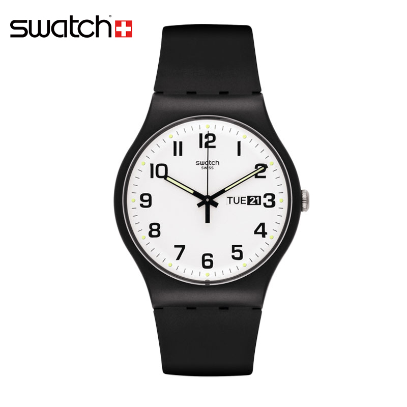 Swatch Watch Quartz Neutral Original Colorful SUOB705 swatch original colorful quartz watch suob135