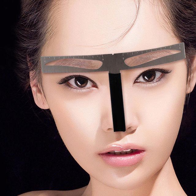 Eyebrow Sharper DIY Shaping Stencil Beauty Makeup Tools Kit Beauty Eyebrow Sharper Template Beauty Tattoo Sharper Beauty Tools 5