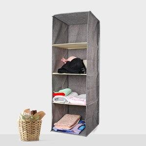 Image 2 - Pamuk dolap dolap dolap organizatör asılı cep çekmece giysi saklama giyim ev organizasyon aksesuarları malzemeleri