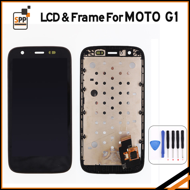 LCD For Motorola MOTO G XT1032 XT1033 LCD Display Touch Screen Digitizer Assembly with Frame+Tool